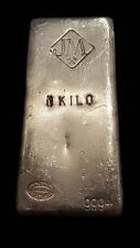 HJB - JM Johnson Matthey 1 KILO Silver Bar 999+ Less than 2000 made!!!!