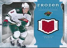 2015/16 Artifacts FA-CC Charlie Coyle Frozen Artifacts Jersey Blue Insert