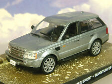 1/43 JAMES BOND 007 RANGE ROVER SPORT FROM A QUANTUM OF SOLACE METALLIC SILVER