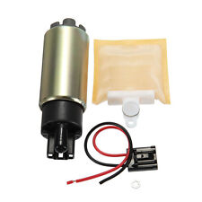 For Honda EFI In tank Electric Fuel Pump 15-90 PSI & Connector & Nylon Strainer