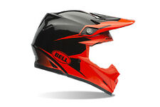 New Bell Moto-9 Infrared Intake Dirtbike Off-Road MX Helmet Orange/Black Medium
