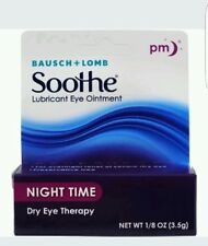 Bausch - Lomb Soothe Lubricant Eye Ointment Night Time - 3.50 Gram
