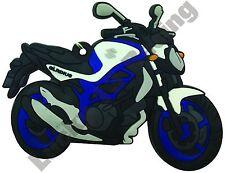 Suzuki GLADIUS Goma Llavero Llavero Cadena De Regalo De Ciclo Bici del motor
