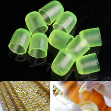 200pcs Queen Cell Cups Royal Jelly Cups Beekeeping Bee Rearing Equip Tool Supply
