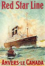 RED STAR LINE Anvers - Le Canada