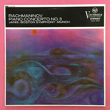 Rachmaninov Piano Concerto No.3 - Janis - Boston Symphony - Munch - VICS-1032