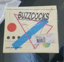 Buzzcocks Lest We Forget CD RARE NIB factory Sealed!