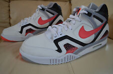 New Mens Nike Air Tech Challenge II Tennis Shoes 643089-160 sz 10.5 Hot Lava