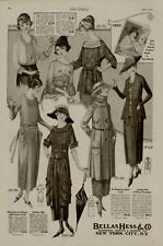1920 BELLAS HESS & CO. FASHION AD / SEVEN STYLES