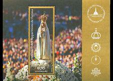 Luxemburg 2017  Mirakel van Fatima  religie  blok-m/s    POSTFRIS/MNH