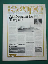 1/1976 PUB TEMPAIR AIRLINES AIR NIUGINI BOEING 720B AIRLINER MERPATI VANGUARD AD