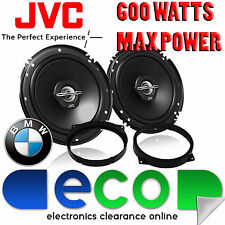 BMW 3 Series 1999-2005 JVC 16cm 6.5 Inch 600 Watts 2 Way Front Door Car Speakers