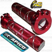 Apico Red Alloy Throttle Tube With Bearing For Honda CRF 450R 2013 MotoX Enduro