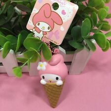 1 pc MY MELODY CHARACONE Squishy Charms Cellphone Straps with TAG