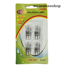G4 10w 12v AC Halogen Dimmable,Clear Bulb Lamp Pack of 12
