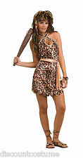 STONE AGE STYLE CAVE BEAUTY CAVE WOMAN ADULT STANDARD SIZE HALLOWEEN COSTUME