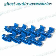 50x Blue Scotchlocks / Scotchlock Terminal Fitting Connectors to Splice