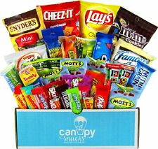 Assorted Snacks Package College Gift Basket Delicious Variety Packs High Quality