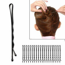 60X Womens Invisible Hair Clips Flat Top Bobby Pins Grips Salon Barrette Black