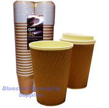 40 X 12 Oz efecto secundario aislado Premium Chinet Tazas De Café Y Tapas