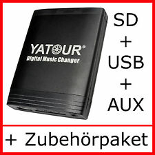USB Aux Adapter Porsche CR CDR 11 21 31 CDC-3 MP3 SD-Interface CD-Wechsler