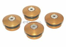 CTMOTO DUCATI MONSTER 600 750 900 Billet Alloy FRAME PLUG SET GOLD