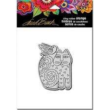 New Stampendous RUBBER STAMP cling LAUREL BURCH FELINE FRIEND CAT  FREE US SHIP