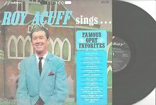 ROY ACUFF - SINGS FAMOUS OPRY FAVORITES -Hickory LPS-139 1967