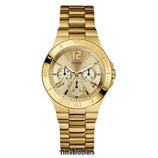 NEW GUESS WATCH for Women * Multi-Function * Gold Tone Stainless Steel U12631L1