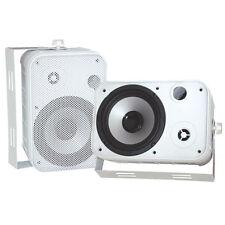 """Pyle PDWR50W 6.5"""" Indoor/Outdoor Waterproof Speaker Pr White"""