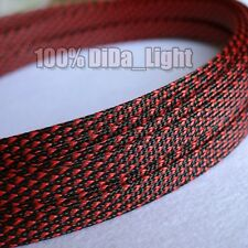 10mm High Densely Tight Braided PET Expandable Sleeving Cable Wire Sheath