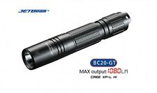 Jetbeam BC20-GT CREE XP-L HI 1080 Lumens USB Rechargeable Flashlight + Battery