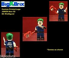 JOKER New 52 DC Custom Printed LEGO Minifigure NO Decals Used!