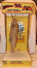 Vintage Superman String Puppet Store Display - Superheroes Puppet Demonstrator