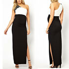 Maternity Evening Cocktail party Dress wedding Black & White or black & pink