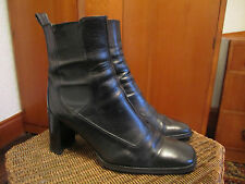 HOBBS LEATHER BOOTS SIZE 36.5 leather sole and leather upper MADE IN ITALY