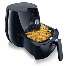 Nueva Philips Airfryer hd9220/20 rápida de la tecnología digital Advance Low Fat Negro