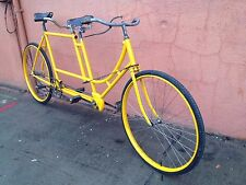 1898 Stearn's Yellow Fellow Combination Steering Tandem