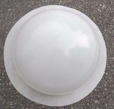 "1/8th""poly plastic mold concrete plaster half sphere 10"" W mould"