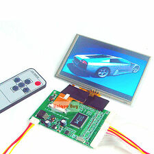"5.0""  TFT LCD Module +Touch Panel  2 AV / VGA Driving Board 800x480 Dots 40Pin"