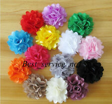 14 Mesh Chiffon Flower Hair bow For Hair band headbands & clothing Accessories