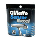 Gillette Sensor Excel Refill Blades - Pack of 10 Cartridges