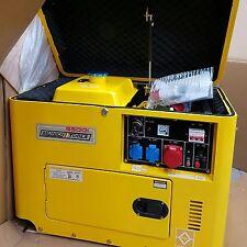 Gruppo Elettrogeno Diesel 6500 Watt Nuovo E Garantito