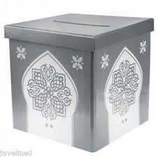 Urne Ehe Sparbüchse Orientalisch Silber Hochzeitsdekoration