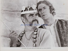 THE MAN WHO WOULD BE KING SEAN CONNERY MICHAEL CAINE ORIGINAL PRESS PHOTO