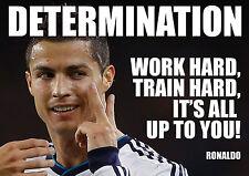 Cristiano Ronaldo 7-motivación póster de A4 260gsm