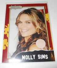 PopCardz Costume Trading Card #12 Molly Sims (V.1)