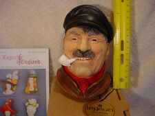 NOS Legends Bargee Made in England Nautical F Wright Bossons Chalkware