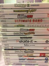 LOT 16 Wii Games Need For Speed, MLB, Guitar Hero, My Sims Etc