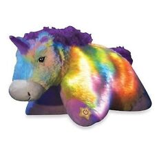 Pillow Pets, Glow Pets, Rainbow Unicorn, 15 Inches New